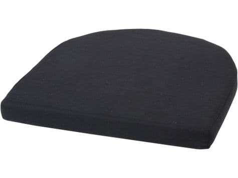 rattan seat cushion | black seat pad for rattan chair