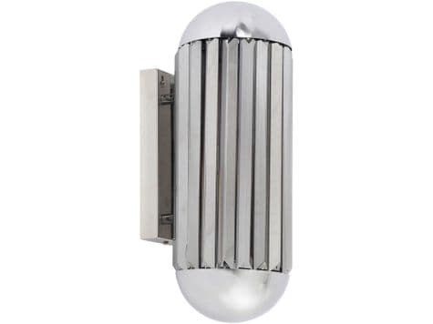 round ends metal wall light | capsule shaped wall sconce | Libra