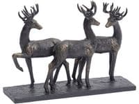 Parklife Stag Trio Sculpture