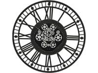Stephenson Skeleton Wall Clock with Moving Cogs