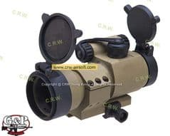 30mm AP Military Red Dot Sight (Sand) by G&P