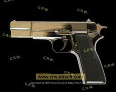 9mm M1935 Hi-Power Pistol(Black) by TGC