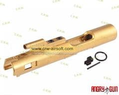 Angry Gun CNC Steel Bolt Carrier for WE M4 GBB (Titanium Coating)
