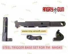 Angry Gun CNC Steel Trigger Base Set for Marui M40A5