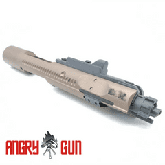 Angry Gun Complete MWS High Speed Bolt Carrier w/ MPA Nozzle ( B*C Style ) ( FDE )