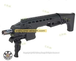 Caribe Action Combat Carbine Kit for KSC/Marui G series (Black) by APS