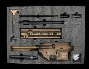 In stock Angry Gun 416CAG MWS Conversion Kit With 10.5'' SMR RAIL - FDE
