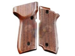 KIMPOI SHOP Hand Carved Type B Wood Grip For KSC M93R Series GBB ( System 7 )