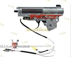 King Arms M190 Ver. III Front Wiring Complete Gearbox for AK AEG