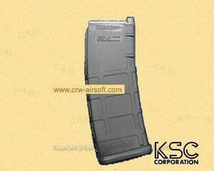 KWA 30rd S72 PMAG for M4 Magpul PTS GBBR (Black)