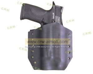 M&P9 with x300 Flash Light  by CRW Holster