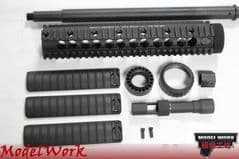MWC Mk12 mod1 kit for Marui MWS M4 gbb (no A2 stock)