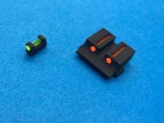 Pro-Arms Airsoft Steel Fiber Optic Sight for Umarex Glock 17/19 Free shipping