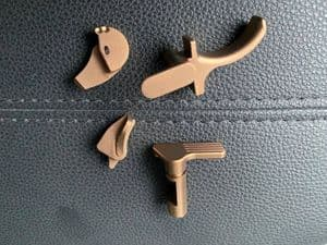 Pro-arms Steel (Black or PVD Tan) trigger/ Ambi safety/ take down level for SIG M17 Free shipping