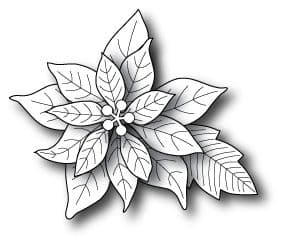 0861 ~ BLOOMING POINSETTIA ~ by Poppystamps,