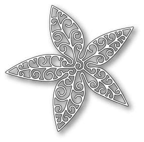 1049 ~ LUXE POINSETTIA OUTLINE  ~ Poppystamps die