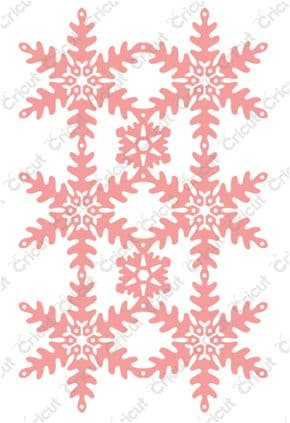 2002272 ~ SNOWFLAKE LACE ~ Cut & emboss die by Anna Griffin for Cuttlebug