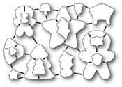 32183 ~ FROSTED CHRISTMAS SET ~ Open Studio by Memory Box dies