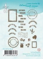 55.2816 ~MAIL  ~ Leane Creatief Clear Stamp