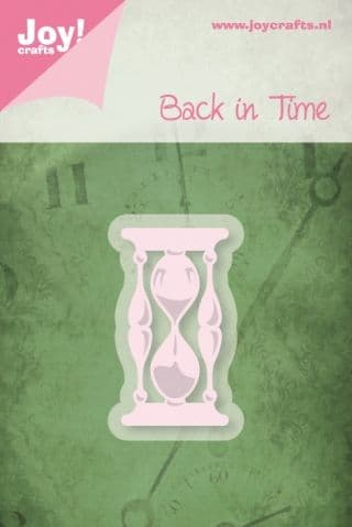 6002/0221 ~ HOURGLASS ~  JOY CRAFTS Cut and emboss