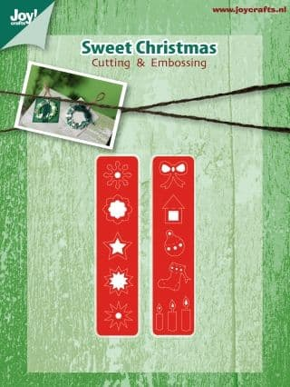 6002/2038 ~ CHRISTMAS SYMBOLS ~ JOY CRAFTS Cut+Emboss dies