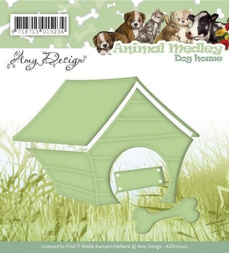 ADD10022 ~ Animal Medley ~ Doghouse