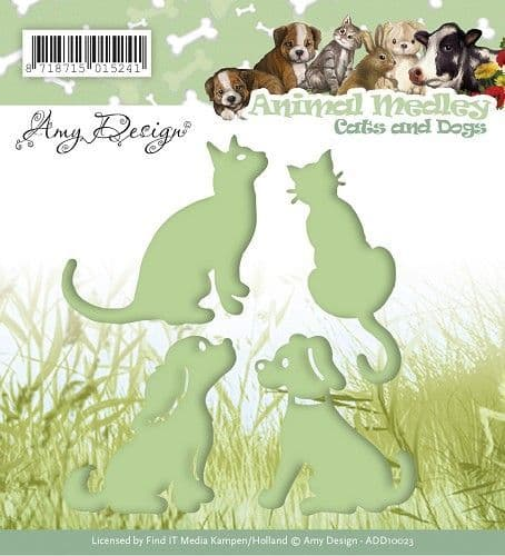 ADD10023 ~ Animal Medley ~ Cats and Dogs