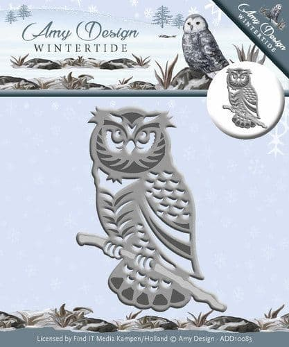 ADD10083 ~ Owl ~ Wintertide ~ Amy Design