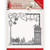 ADD10220 - Nostalgic Christmas Cutting Die - Christmas Mail Box -Amy Design