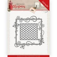 ADD10221 - Nostalgic Christmas Cutting Die - Snowflake Frame  -Amy Design