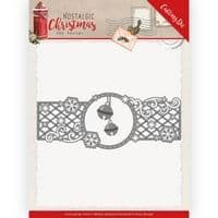 ADD10223 - Nostalgic Christmas Cutting Die - Christmas Bells Border - Amy Design