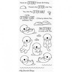 BB-42 ~ Otterly Love You ~ CLEAR CLING BACKED STAMPS~ MY FAVORITE THINGS