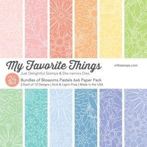Bundles of Blossoms Pastels ~ 6x6 Paper Pack ~ MY FAVORITE THINGS