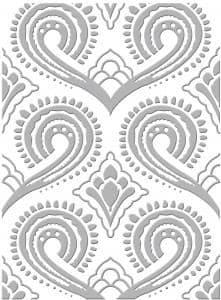 C0723012 ~ FLAMINGOES and HEDGEHOGS  Couture Creations emboss folder
