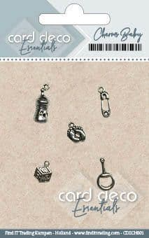 CDECH001 ~ Charms Baby  ~ Card Deco Essentials