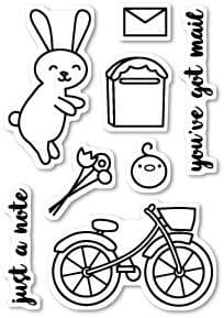 CL421 ~  MAIL DELIVERY ~  Poppystamp