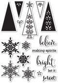 CL5186 ~ MAKING SPIRIT BRIGHT ~  Open Studio Clear Stamps