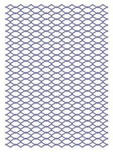 CO724381~ CHAIN LINK ~ Hearts Ease  Collection Embossing folder.