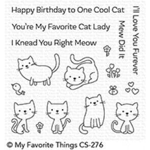 CS-276 ~ Love You Furever ~ CLEAR CLING BACKED STAMPS~ MY FAVORITE THINGS
