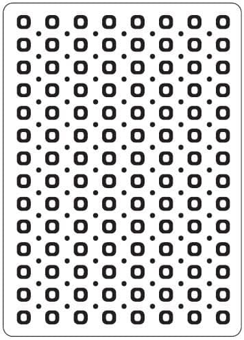 CTFD 3024 ~ SPOTS + DOTS ~ embossing folder CRAFTS TOO