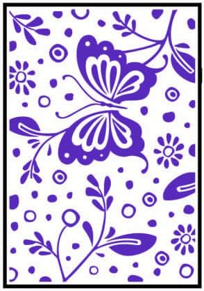 CTFD 3046 ~ SPRING ~ CRAFTS TOO embossing folder