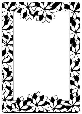 CTFD 4009 ~ POINSETTIA FRAME ~ embossing folder from Crafts Too