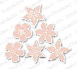 DIE148 L ~ BUNCH OF BLOSSOMS  ~ Impression Obsession dies