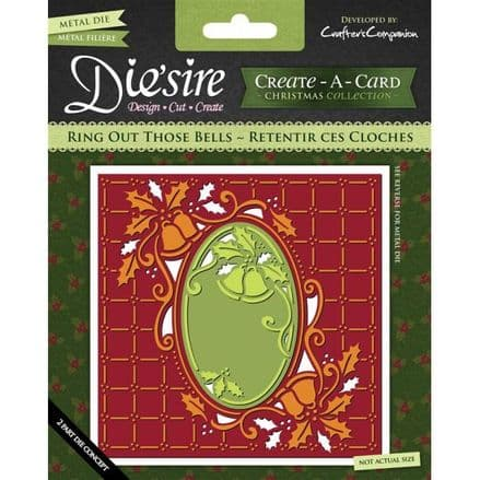 DS-CADX-BELL ~ RING OUT THOSE BELLS ~ Create-A-Card by Crafter's Companion