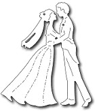 FRA-DIE-09311 ~ WITH THIS KISS COUPLE ~ die from FRANTIC STAMPER