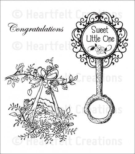 HCPC 3602 ~ SWEET LITTLE ONE PreCut Set ~ Sweet Lullaby Collection ~  Heartfelt Creations
