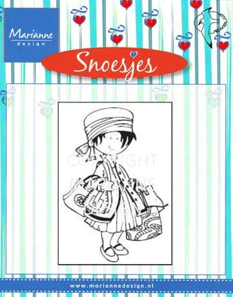 HM9441  SNOESJES shopping ~  Marianne Designs Clear stamp