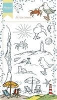 HT1622 ~ Hetty's At the Beach ~  Marianne Designs Clear stamp