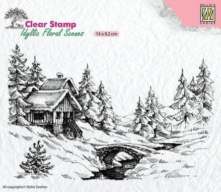 IFS009  - Winter 1 - Nellie Snelling clear stamp