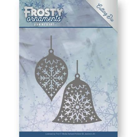 JAD10043 ~ Candle Baubles Die  ~ Frosty Ornaments ~ Jeanine's Art